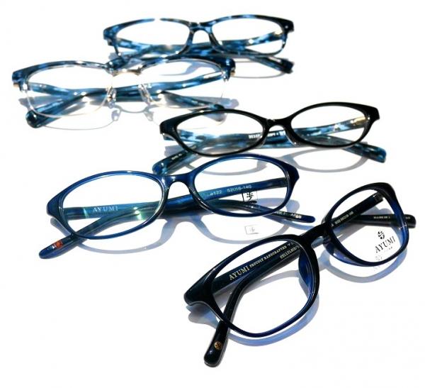 おすすめがね日記 ~セルロイドの青メガネ特集~