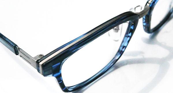おすすめがね日記 SOLID BLUE, S-208, S-209