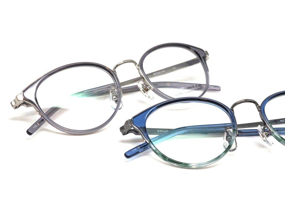 SOLID BLUE, S-236 眼鏡工房久保田