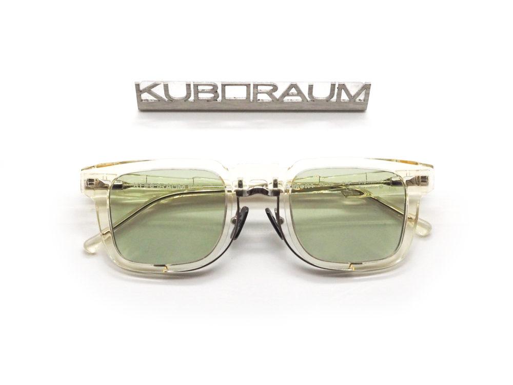 大胆シルエットのクリアカラー KUBORAUM, Maske N4