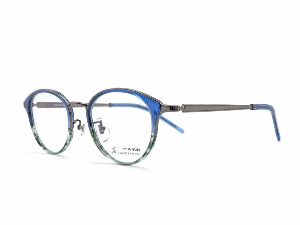 SOLID BLUE, S-236 col.4 眼鏡工房久保田