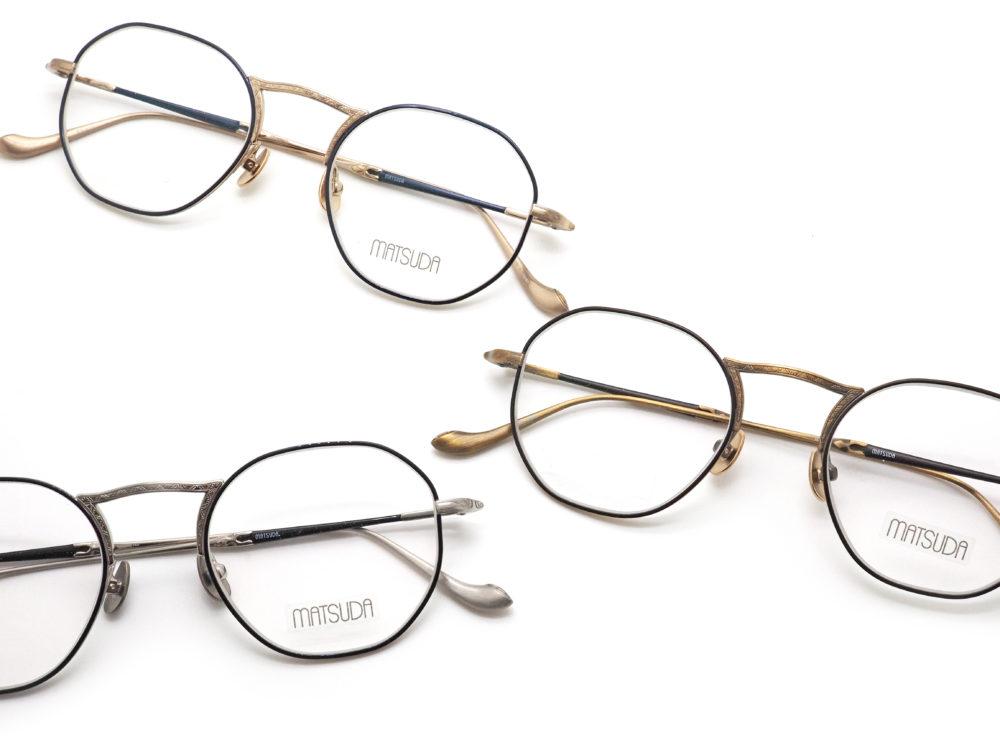 リピート紹介 MATSUDA eyewear, M3057