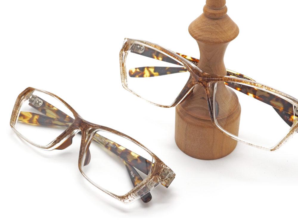 薫る眼鏡フレーム Fascino Ribelle, Mod.F16/030 col.Cafee